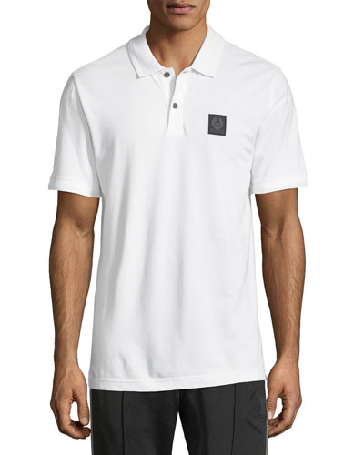 Piqué-Knit Polo Shirt