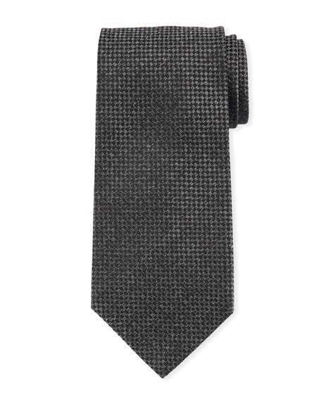 TOM FORD Men's Houndstooth Silk Tie