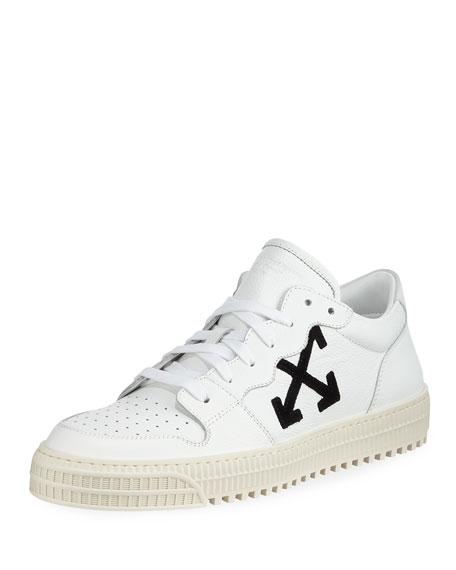Leather Sneakers - Bergdorf Goodman