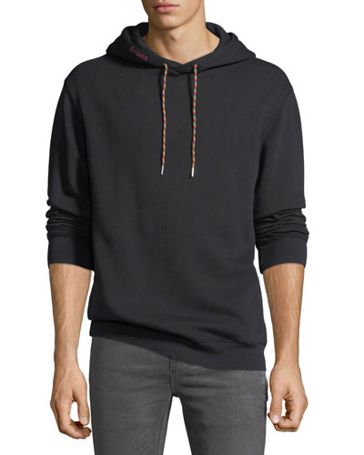 Men's Logo-Print Cotton-Blend Hoodie Sweatshirt