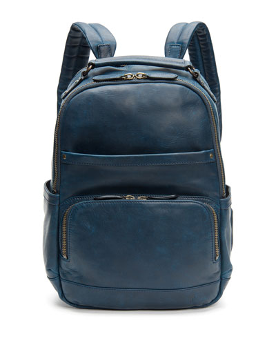 Men's Logan Leather Backpack