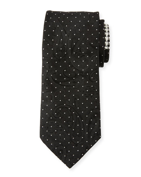 Etro Men's Contrast-Print Formal Silk Tie