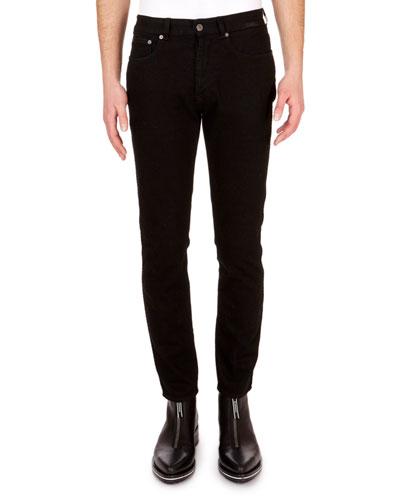 Men's Slim-Fit Skinny-Leg Stretch-Denim Trousers
