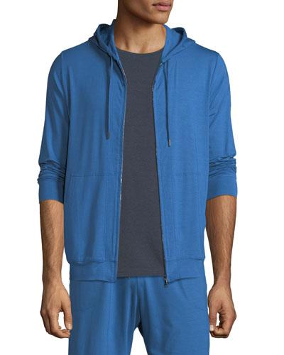 Men's Basel 5 Zip-Front Hoodie