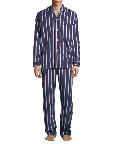 Men's Royal 210 Striped Classic Pajama Set