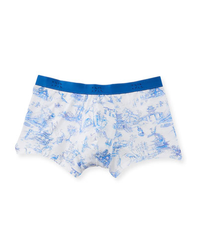 53fd21bb2fea Japan 1 Toile-Print Hipster Boxer Briefs
