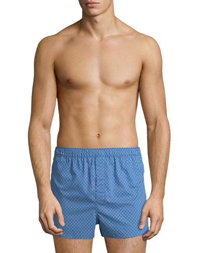 Nelson 66 Modern-Fit Cotton Boxer Shorts