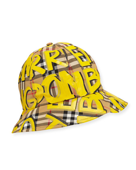 0c12402789514 Burberry Men s Marker Graffiti Bucket Hat