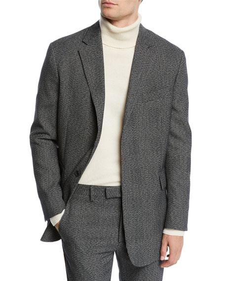 CALVIN KLEIN 205W39NYC Men's Glen Plaid Wool Jacket