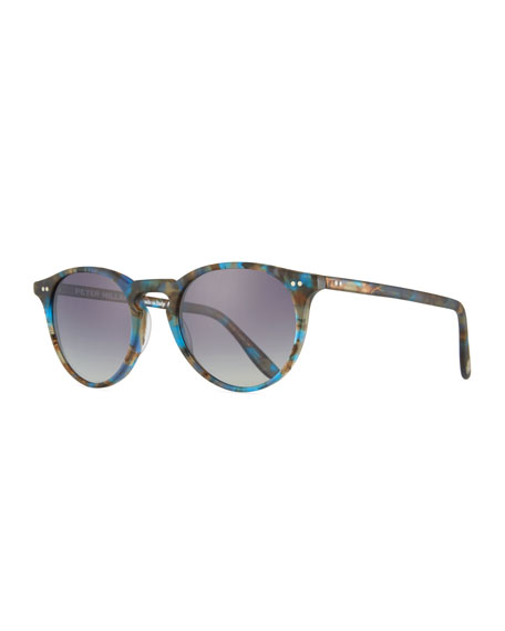 Peter Millar The Excursionist Light Round Sunglasses -