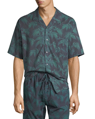 Men's Byron Cuban Short-Sleeve Shirt