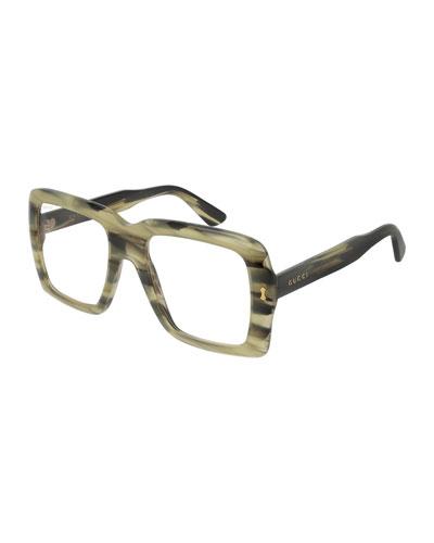 Unisex Bold Acetate Sunglasses with AR Coating