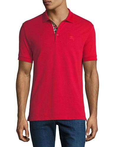 Men's Hartford Polo Shirt, Red