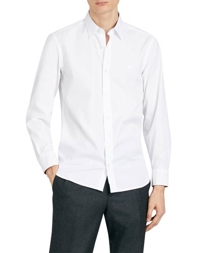 Men's William Stretch-Poplin Sport Shirt