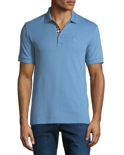 Men's Hartford Polo Shirt, Light Blue