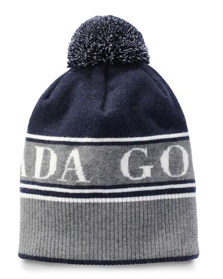 Canada Goose Men's Logo Toque Beanie Hat w/