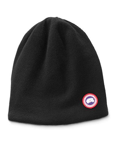 Men's Standard Logo Toque Winter Beanie Hat