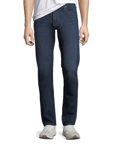 Men's Tellis Modern Slim Straight-Leg Jeans in Burroughs Wash