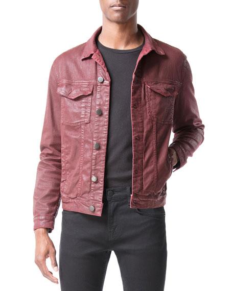 J Brand Men's Acamar Coated Jean Jacket