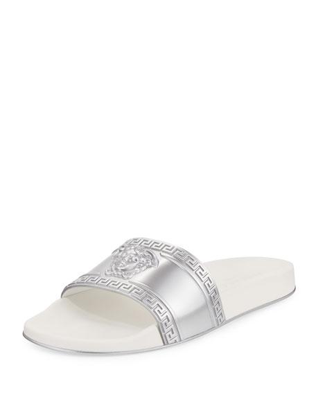 Men's Medusa-Head Slide Sandals
