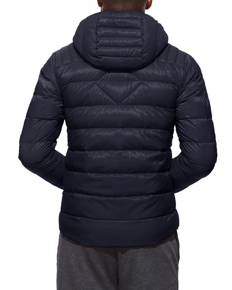 Men's Brookvale Quilted Hoodie Puffer Jacket