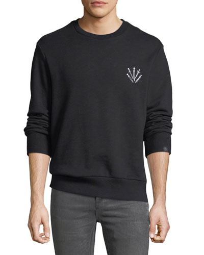 Men's Dagger Embroidered Sweatshirt