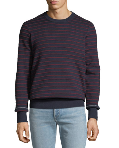 Men's Sam Striped Crewneck Sweater