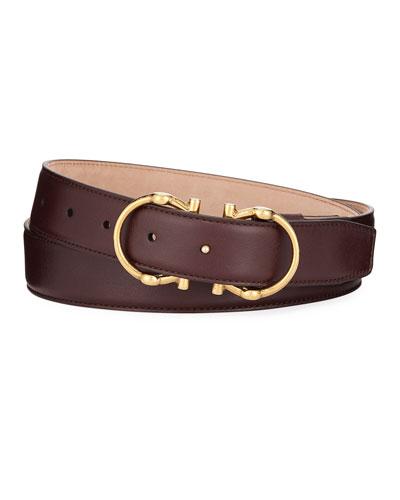 Men's Smooth Calf Belt