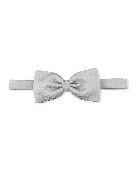 Ermenegildo Zegna Men's Textured Silk Bow Tie