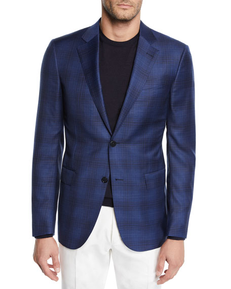 Men's Plaid Sport Jacket