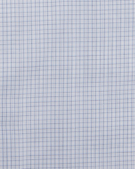 Men's 100fili Micro-Check Dress Shirt