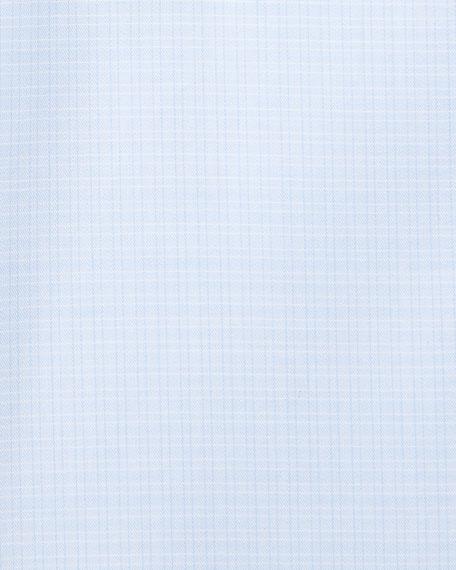 Men's Cotton Tonal Check Cento Dress Shirt