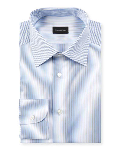 Men's Narrow Stripe Dress Shirt