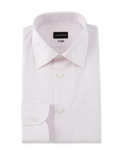 Men's Fili Cotton Tonal Check Dress Shirt