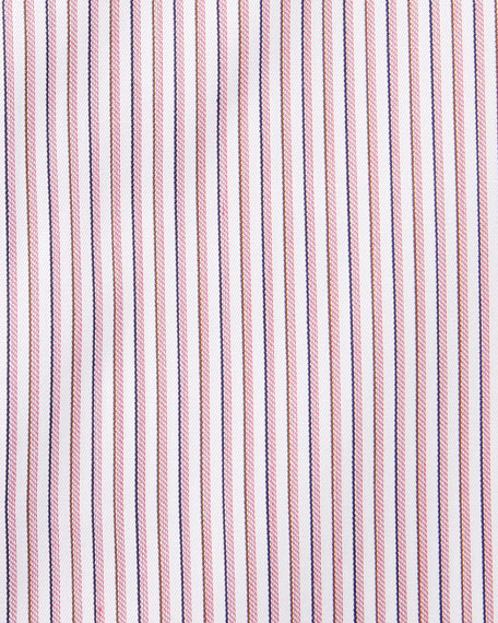 Men's Narrow Stripe Dress Shirt