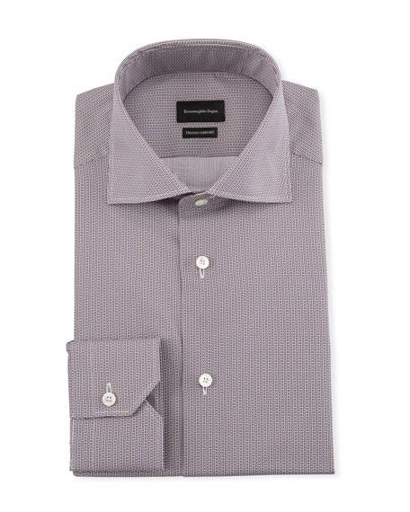 Men's Trofeo Comfort Micro-Print Dress Shirt