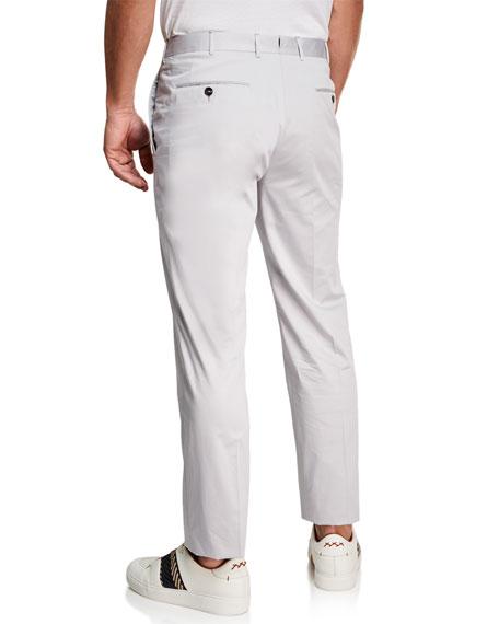 Men's Straight-Leg Chino Pants