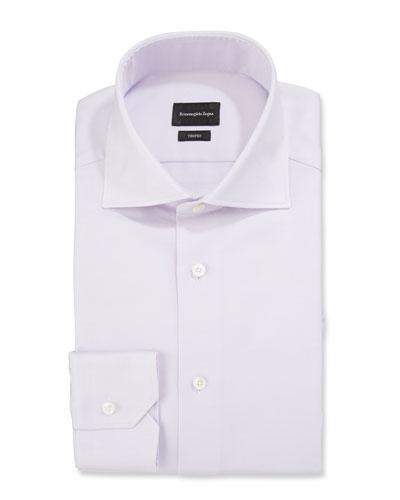Men's Trofeo Solid Twill Dress Shirt