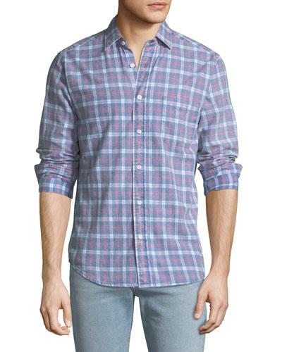 Men's Pacific Plaid Sport Shirt
