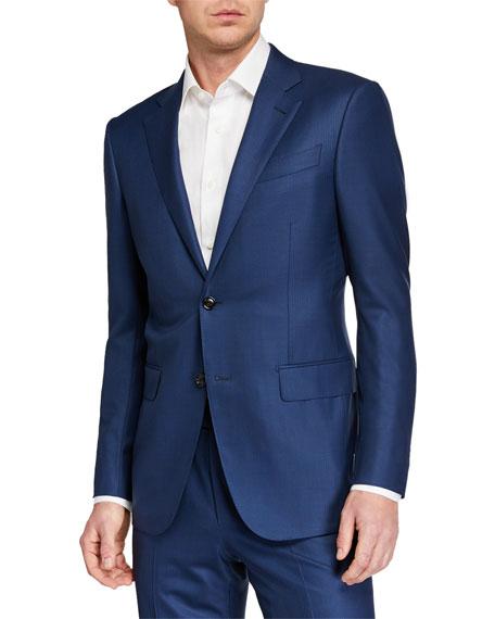 Men's 15milmil15 Two-Piece Tonal Striped Suit