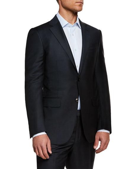 Ermenegildo Zegna Men's Textured Solid Wool Two-Piece Suit