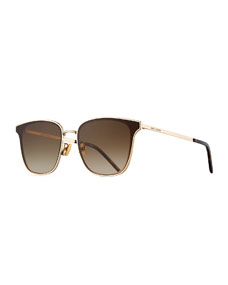 c9a8324175 Saint Laurent Men s SL272 Metal Sunglasses - Gradient
