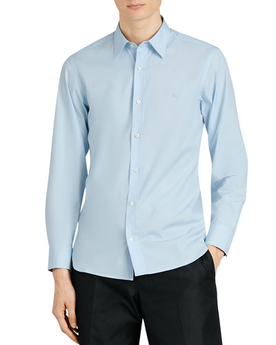 William Stretch-Poplin Sport Shirt