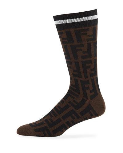 Men's FF-Pattern Calzino Sport Socks