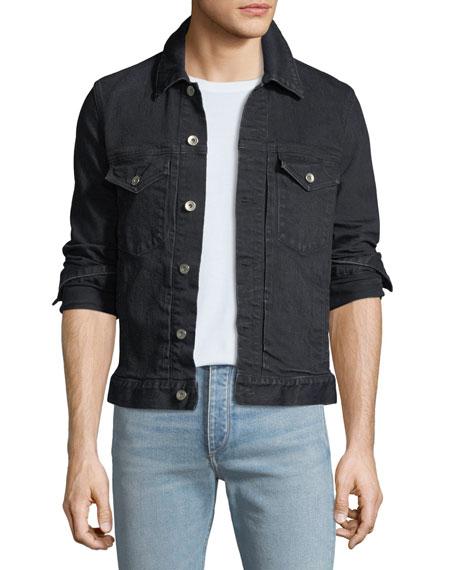 Men's Definitive Dark-Wash Jean Jacket