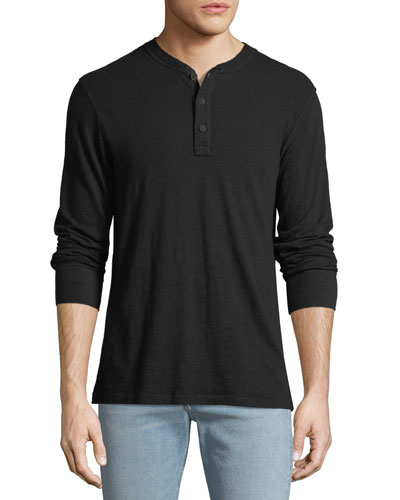 Men's Standard Issue Henley Shirt