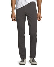 Men's Standard Issue Fit 2 Mid Rise Relaxed Slim Fit Jeans, Gray by Rag & Bone/Jean