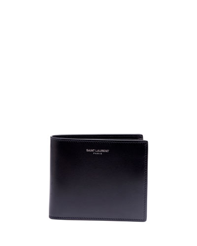 Men's East-West Leather Wallet