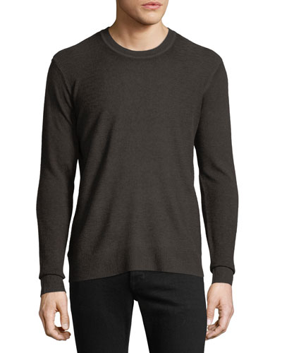 Men's Cashmere-Blend Crewneck Sweater