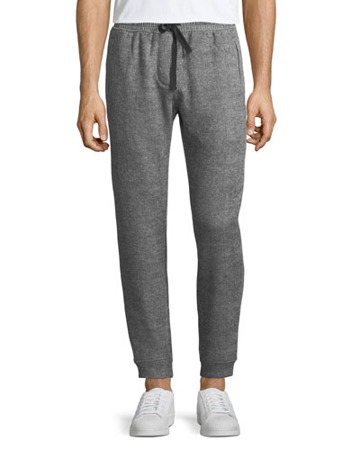 Men's Double-Knit Jogger Sweatpants